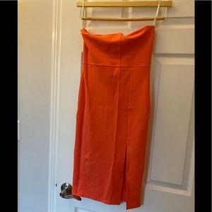 Brand new strapless Summer dress